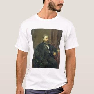 T-shirt Autoportrait de l'artiste, 1869 (huile sur la
