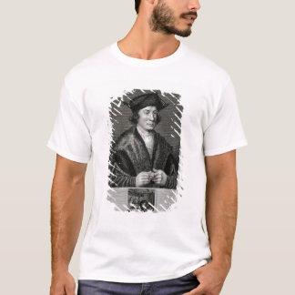 T-shirt Autoportrait, gravé par J. Corner (gravure)