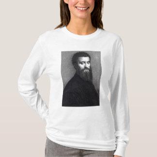 T-shirt Autoportrait, gravé par Jean-Louis Potrelle