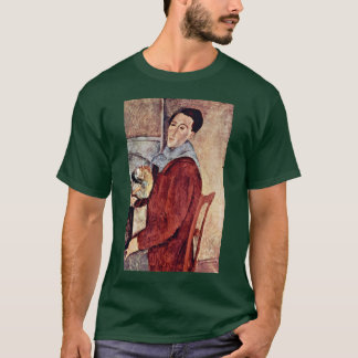 T-shirt Autoportrait par Modigliani Amedeo