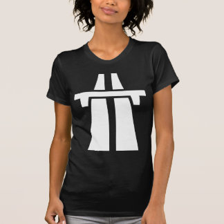 T-shirt Autoroute, autoroute, autoroute - blanc