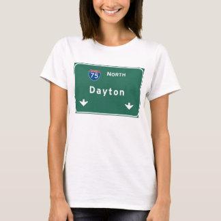 T-shirt Autoroute d'autoroute nationale de Dayton Ohio oh
