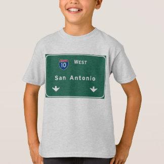 T-shirt Autoroute d'autoroute nationale de tx de San