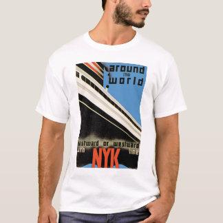 T-shirt Autour du monde avec NYK