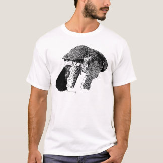 T-shirt Autour du nord