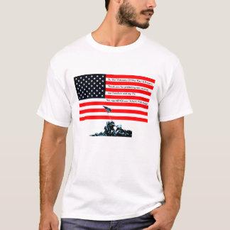 T-shirt Aux vétérans de la guerre