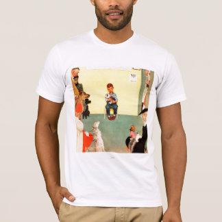 T-shirt Aux vétérinaires par Norman Rockwell