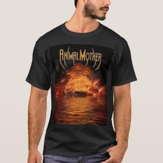 """T-shirt Avant de base lac"""" T du """"flame des hommes/arrière"""