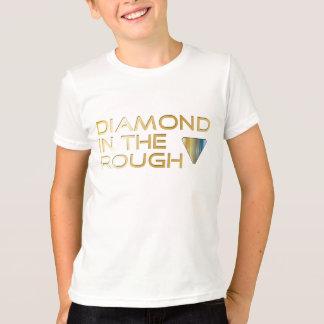 T-shirt AVANT de diamant de vengeur de sensibilisation sur