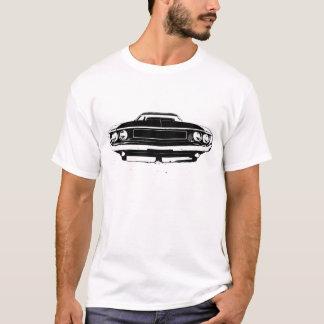 T-shirt Avant et arrière de challengeur de 1970 Dodge