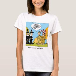 T-shirt Avant le premier thanksgiving