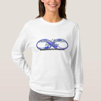 T-shirt Avantages nationaux pour le logo d'espoir