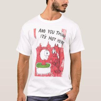 T-shirt avec des énonciations drôles animated