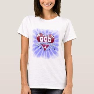 T-shirt Avec Dieu quelque chose est possible