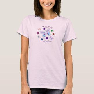 T-shirt Avec Dieu toutes les choses sont possibles