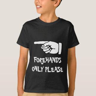 T-shirt avec dire drôle de tennis/slogan