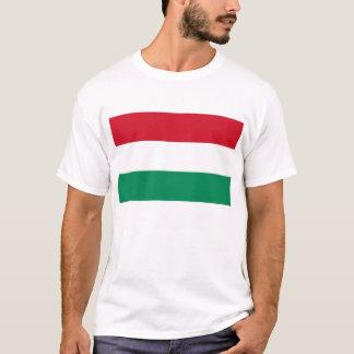 T-shirt avec le drapeau de la Hongrie