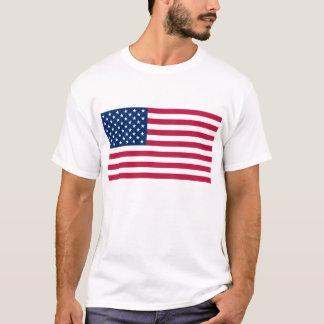 T-shirt avec le drapeau des Etats-Unis