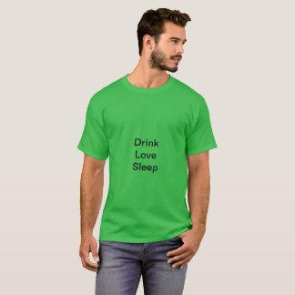 T-shirt avec le message drôle
