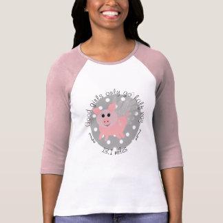 T-shirt avec l'emblème de porc de vol