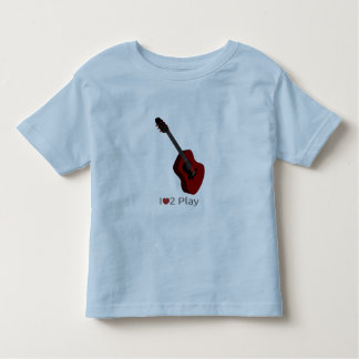 T-shirt avec l'illustration d'une guitare