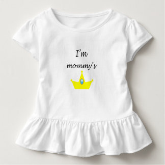 T-shirt avec ruissellés princessinha de la mère