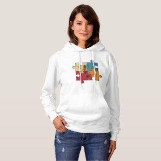 T-shirt avec une partie de puzzle