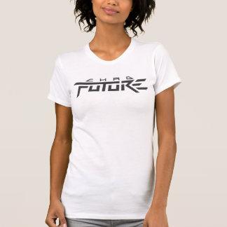 T-shirt Avenir du Tchad - pièce en t de filles (blanc de