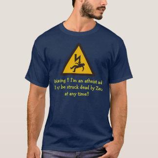 T-shirt avertissement