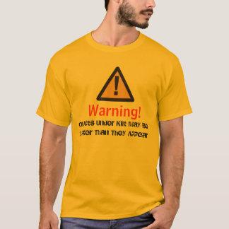 T-shirt Avertissement de kilt