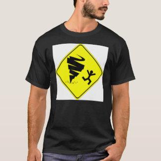 T-shirt Avertissement de tornade