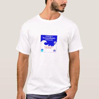 T-shirt Avertissement de tsunami
