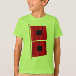 T-shirt Avertissement d'ouragan