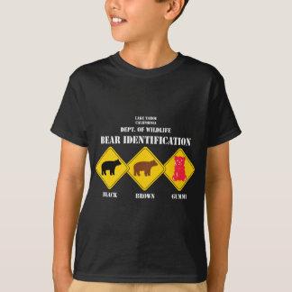 T-shirt Avertissement d'ours de Gummi - faune de Tahoe