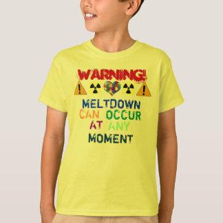 T-shirt Avertissement ! Fusion