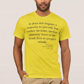 T-shirt Avertissement patriotique par Samuel Adams
