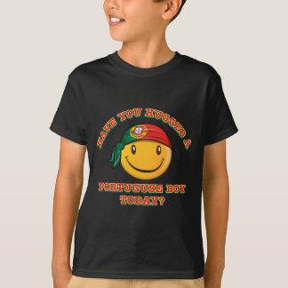 T-shirt Avez-vous étreint un garçon portugais aujourd'hui