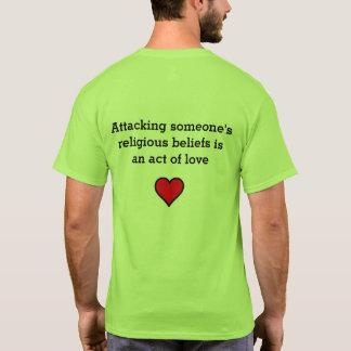 T-shirt Avez-vous incité quelqu'un à douter de leurs