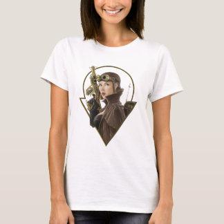 T-shirt Aviateur de Steampunk