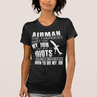T-shirt Aviateur la partie la plus dure de mon travail