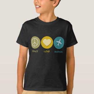 T-shirt Aviation d'amour de paix