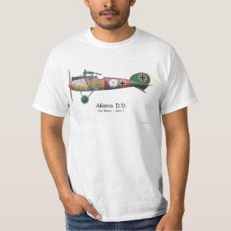 T-shirt Avion de combat allemand Bäumer d'Albatros D.V.