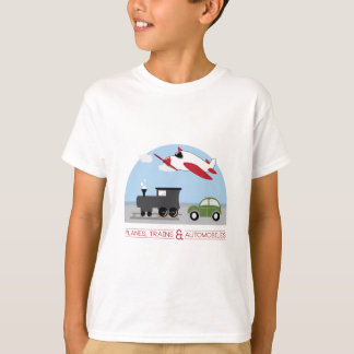 T-shirt Avions, Trains&Automobiles