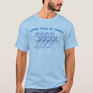 T-shirt Aviron avec mon Homies