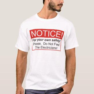 T-shirt Avis/électricien