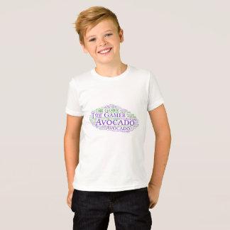T-shirt Avocat et la jeunesse de Gamer