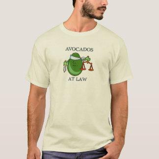 T-shirt Avocats à la chemise de loi