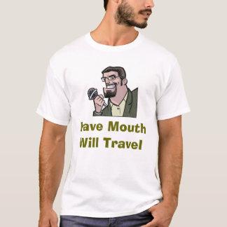 T-shirt Ayez la bouche voyagera