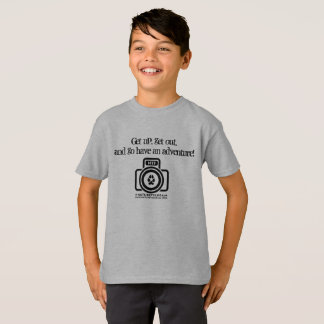 T-shirt Ayez les enfants d'une aventure/la chemise logo de