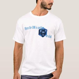 T-shirt Ayez peur du DM de sourire